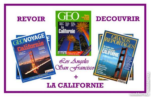 revoir ou découvrir la CALIFORNIE /prixportcompris 15 Laon (02)