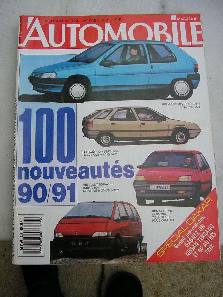Revue l'automobile magazine 20 Nîmes (30)