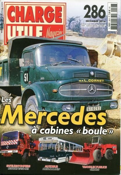 Revue CHARGE UTILE Magazine N° 286 Décembre 2016 Livres et BD