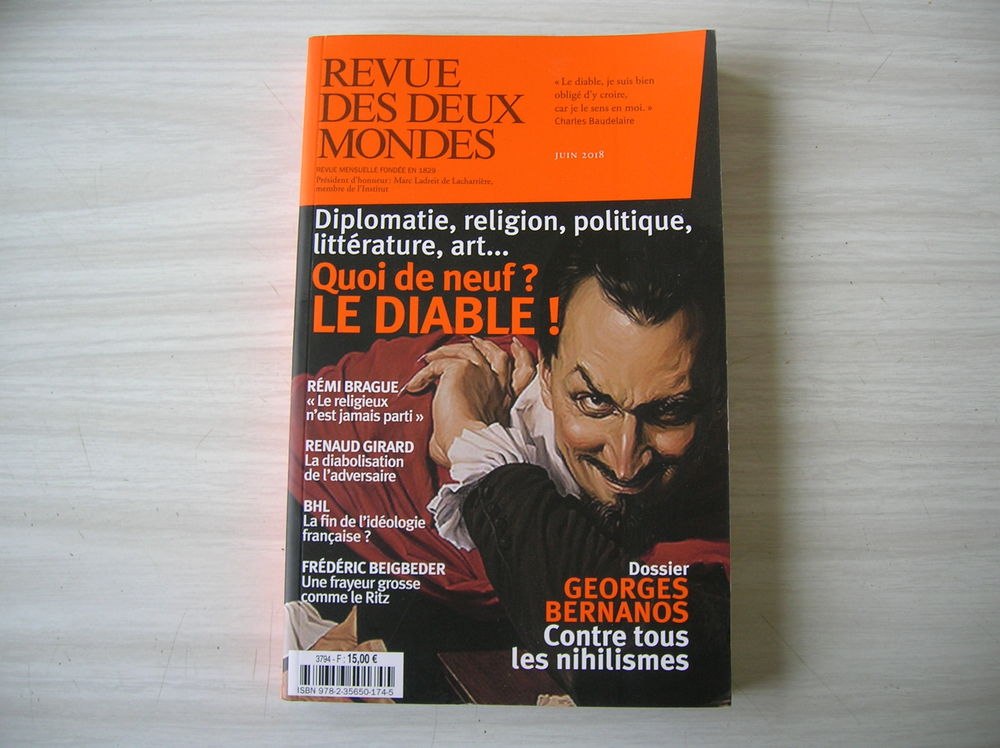 Revue des deux mondes ; quoi de neuf ? le diable ! 13 Nantes (44)