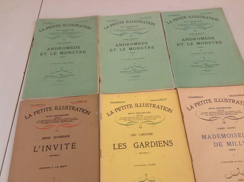 revue hebdomadaire La Petite illustration Livres et BD