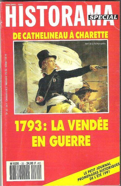 Revue Historama Spécial n°20 : 1793 : La Vendée en guerre Livres et BD