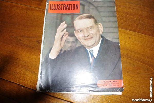 Revue l'illustration janvier 1954 20 Jonquières (84)