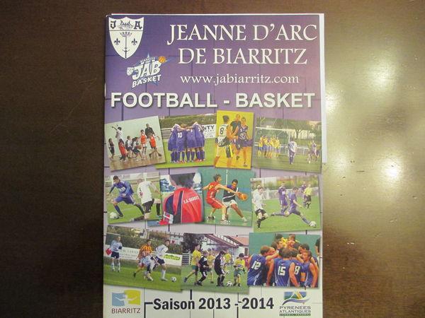 revue jeanne d'arc biarritz foot _basket 2013,2014 2 Ondres (40)