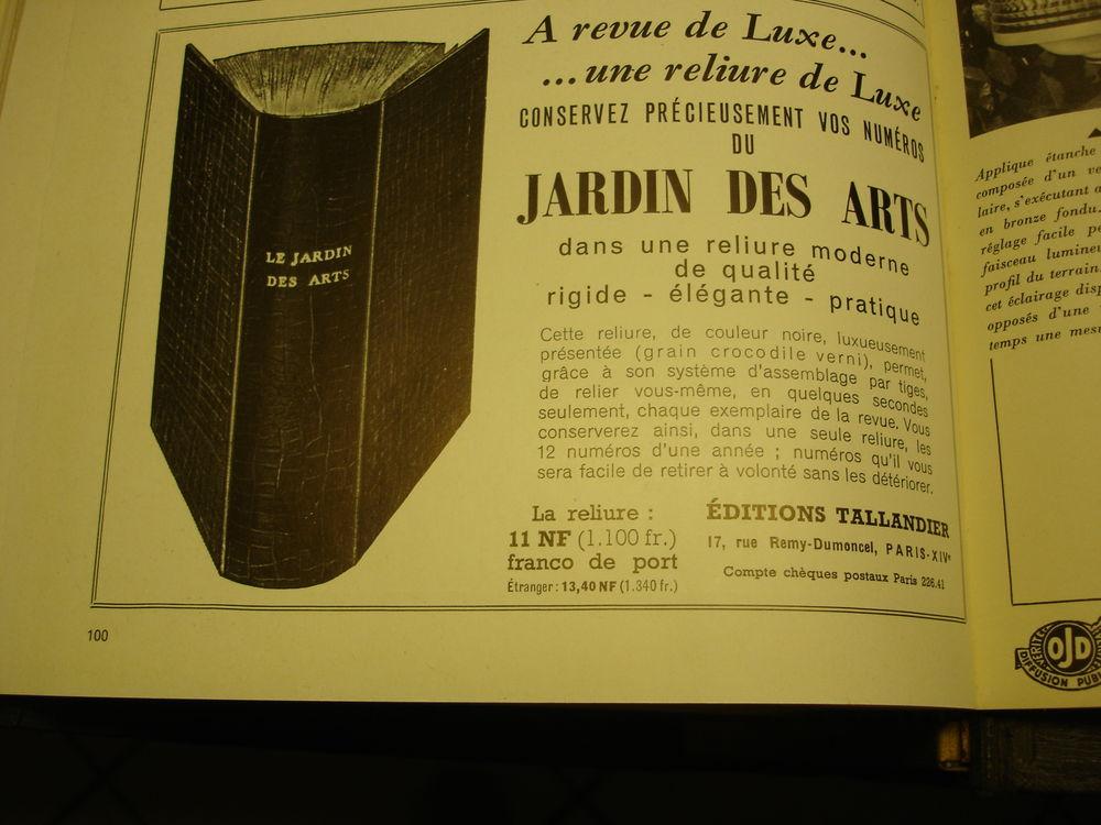 Revue Journal magazine Jardin des Arts 1960 0 Farges (01)