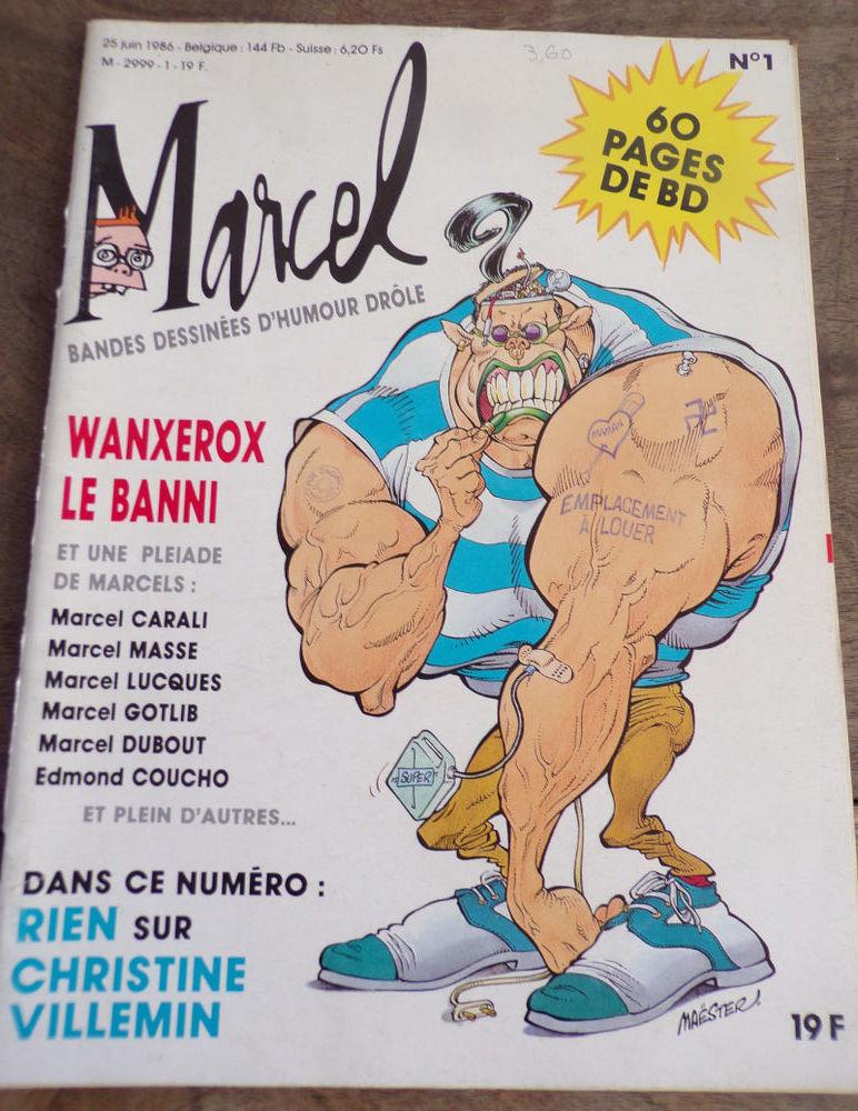 Revue Marcel bandes dessinées d' humour juin 1986  4 Laval (53)
