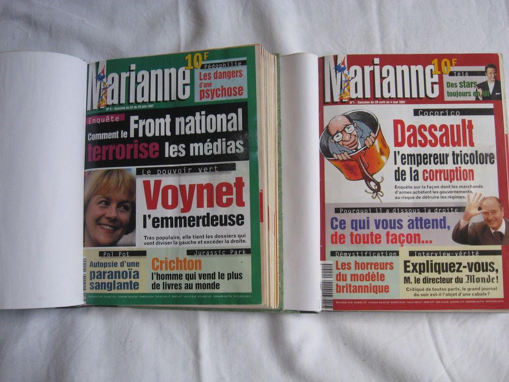 Revue Marianne Livres et BD