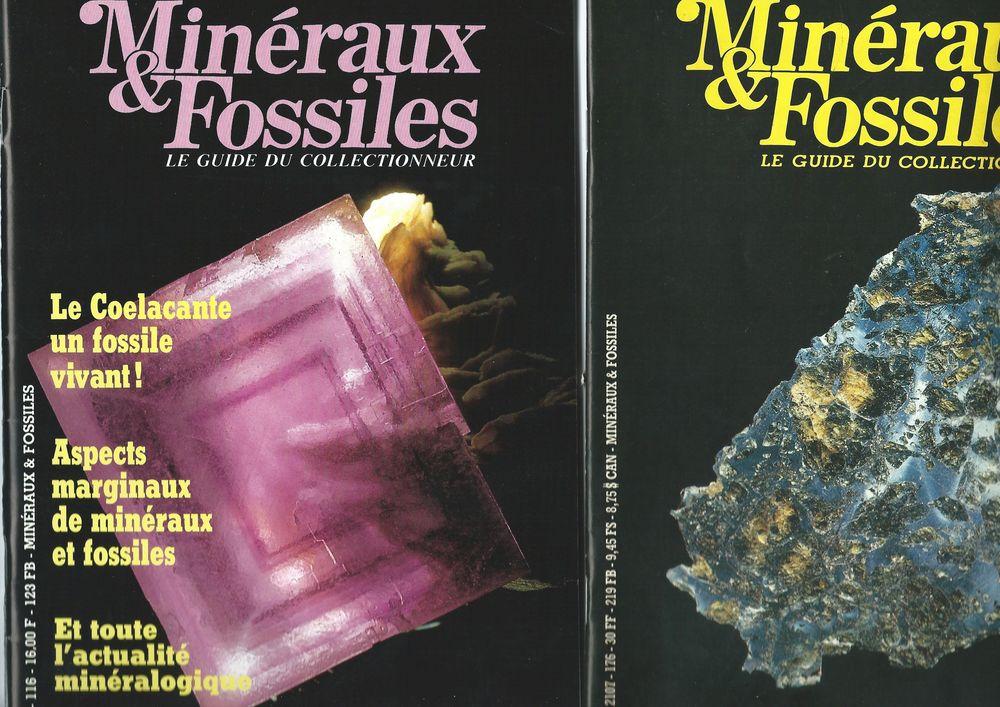 """REVUE """"MINERAUX ET FOSSILES """" Livres et BD"""