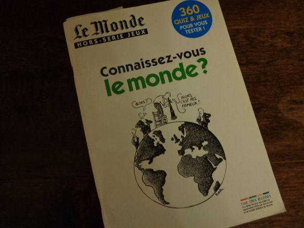 revue LE MONDE,hors série,jeux, de 2009 (95pages) 3 Ondres (40)