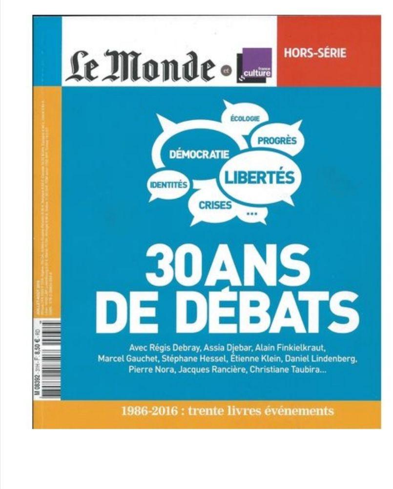 Revue Le monde 3 Mulhouse (68)