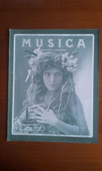 Revue Musica 35. Août 1905 Livres et BD