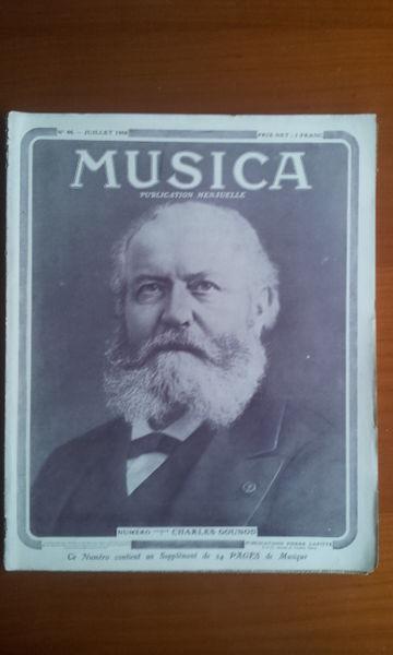 Revue Musica 46. Juillet 1906 Livres et BD