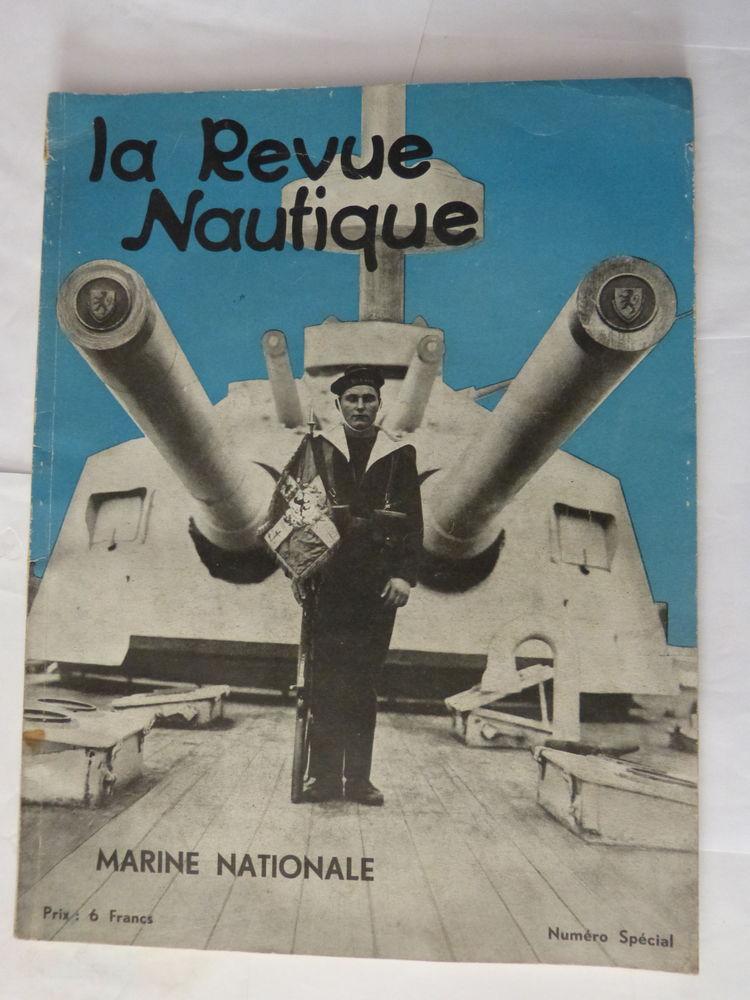 LA REVUE NAUTIQUE  -  MARINE NATIONALE 15 Brest (29)