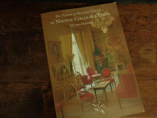 revue le nouveau cercle de l'union 2003, 127 pages(1000 ex) Livres et BD
