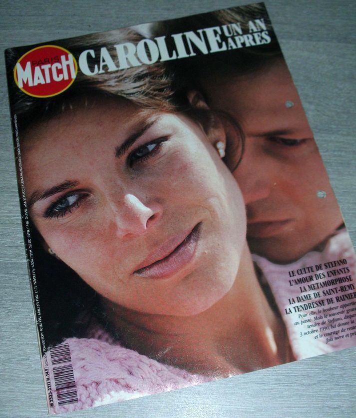 Revue Paris Match * Caroline Un An Après  12 Antibes (06)