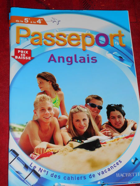 revue passeport anglais 5°  2 Nieuil-l'Espoir (86)