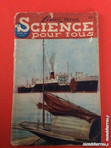 Revue Science pour Tous de 1949 8 Nice (06)