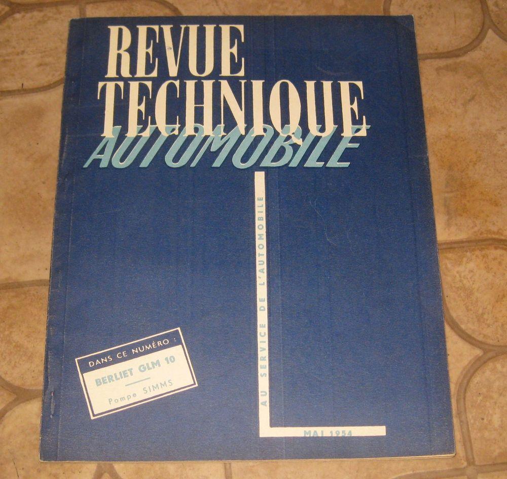 Revue technique 97 de 1954 berliet glm 10 10 Clermont-Ferrand (63)