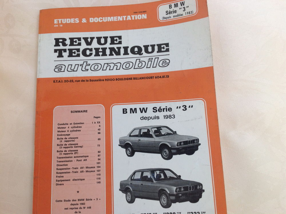 Revue technique automobile 10 Thélus (62)