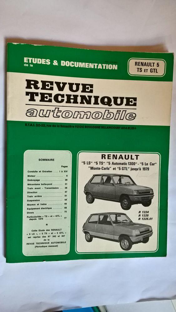 Revue technique Renault 5  13 Saint-Pierre-d'Autils (27)