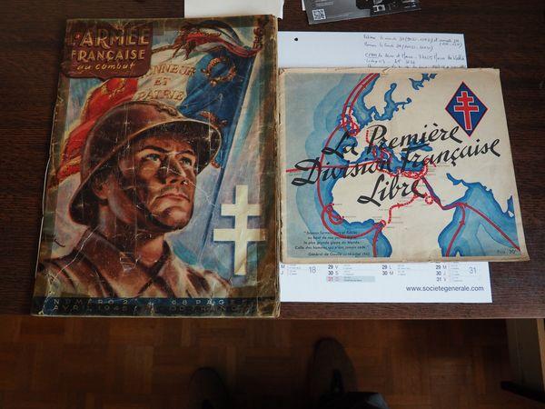 Lot de 2 revues 1943/1945 25 Pontault-Combault (77)