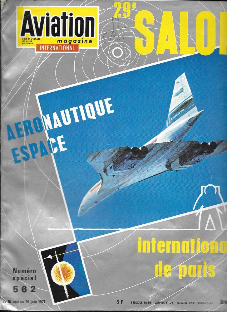 Revues AVIATION MAGAZINE - N° spéciaux salon du Bourget  0 Mulhouse (68)