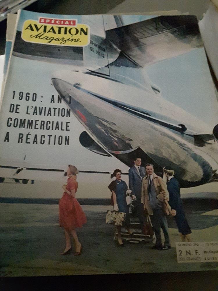 Revues Aviation Magazine années 50 1 Corbeil-Essonnes (91)
