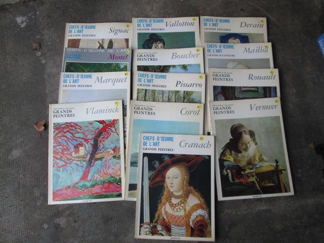 Revues  chefs d'oeuvre de l'art  5 Herblay (95)