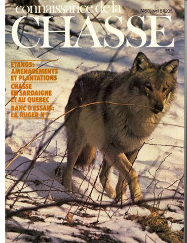5 Revues CONNAISSANCE DE LA CHASSE anciennes 0 Saint-Clair-sur-Galaure (38)