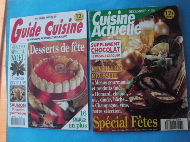 2 Revues cuisine special fêtes, décembre 1993 3 Montauban (82)