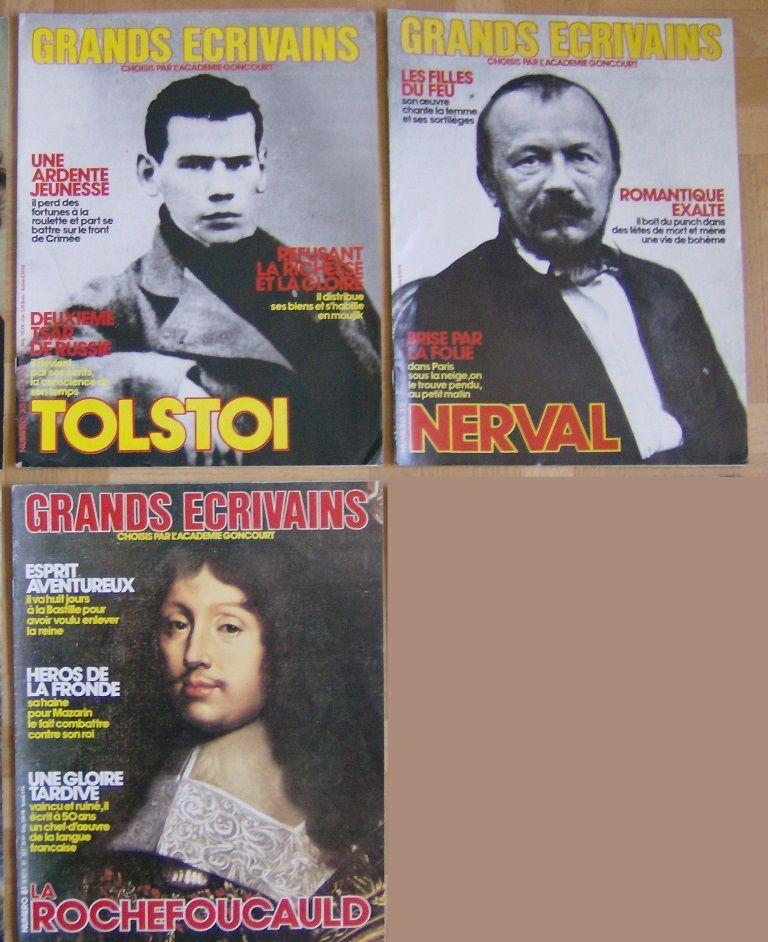 Revues grands écrivains Livres et BD