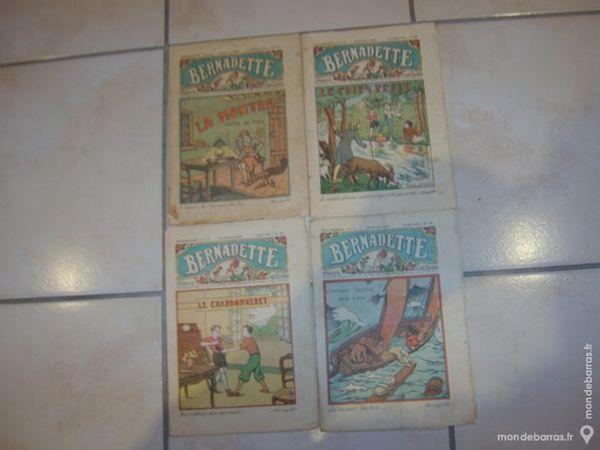 70 revues hebdomadaires BERNADETTE de 1934 à 1937 2 Romagnat (63)