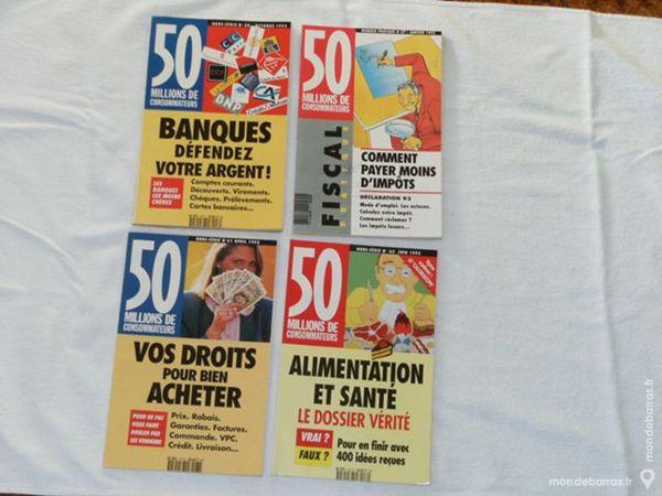 REVUES / LIVRES / 50 MILLIONS DE CONSOMMATEURS 1 Mont-de-Marsan (40)