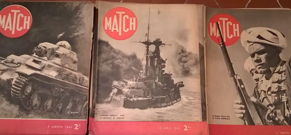 Revues MATCH 2ème Guerre Mondiale 9 Marseille 1 (13)