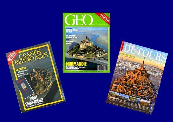 3 revues sur le MONT ST MICHEL / prixportcompris 12 Reims (51)
