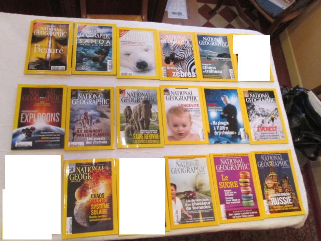 Revues National Geographic 2 Herblay (95)