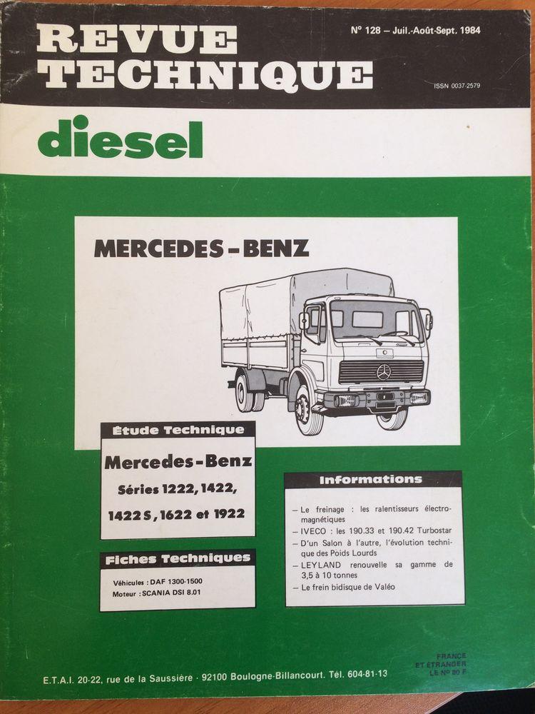 Revues techniques diesel  10 Laon (02)