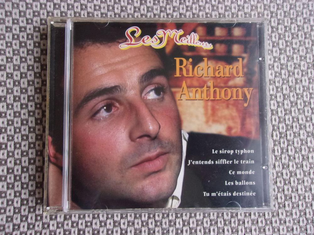 CD RICHARD ANTHONY CD et vinyles
