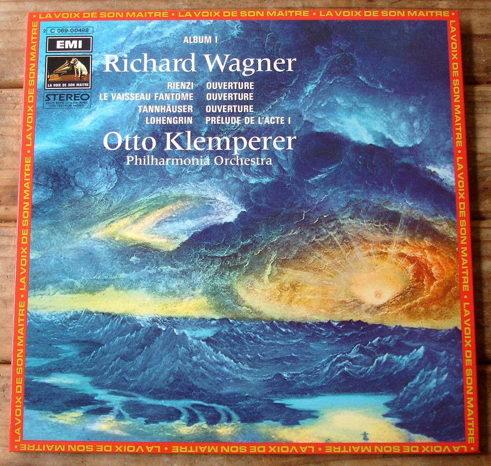 RICHARD WAGNER - 33t Album 1 - RIENZI -TANNHÄUSER-LOHENGRIN CD et vinyles