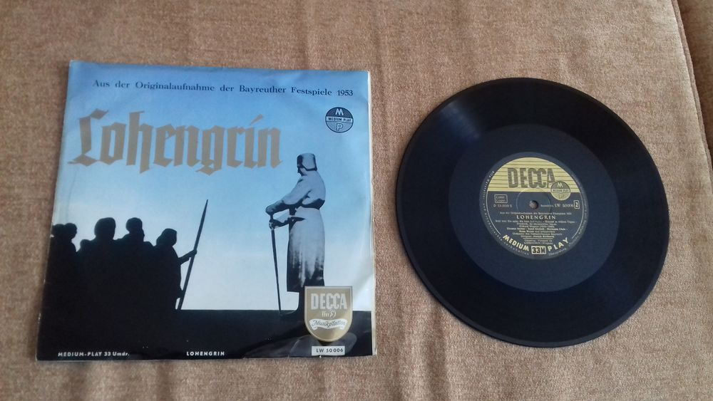 RICHARD WAGNER, classique vinyle 33 tours CD et vinyles