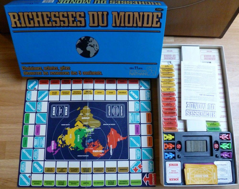 Richesses du monde - Jeu de société vintage 25 Vieux-Condé (59)