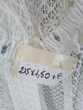 RIDEAU SUR RUFLETTE 215H*150l blanc 15€ Décoration