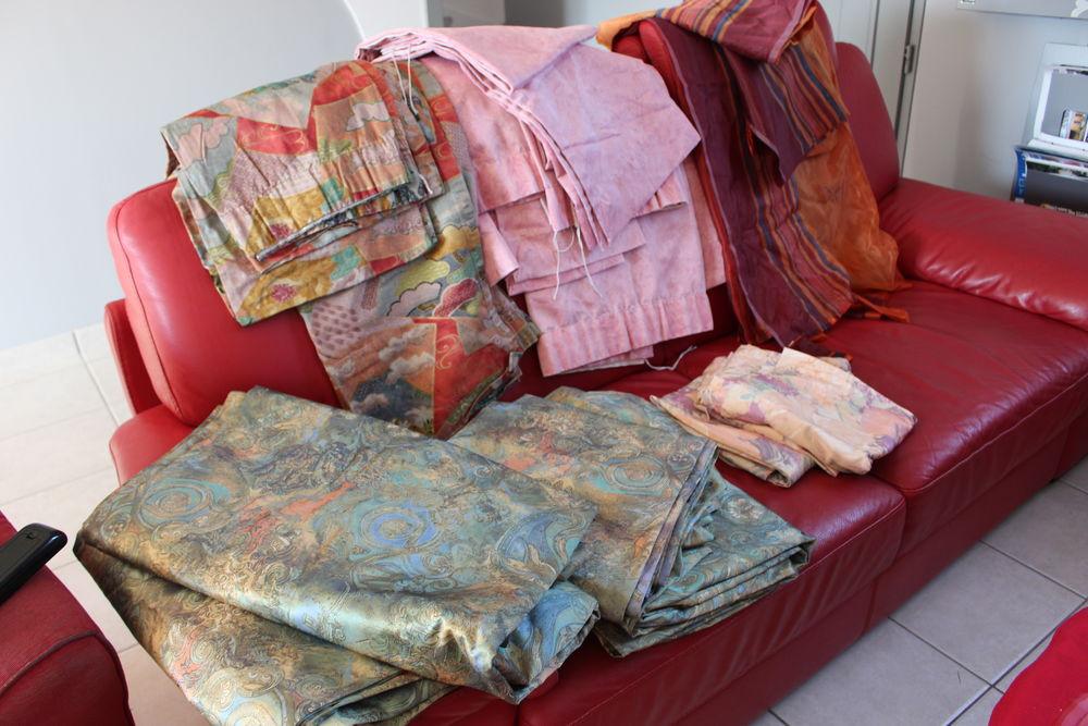 Lot de 5 rideaux et double rideaux  TBE 100 Saint-Domineuc (35)