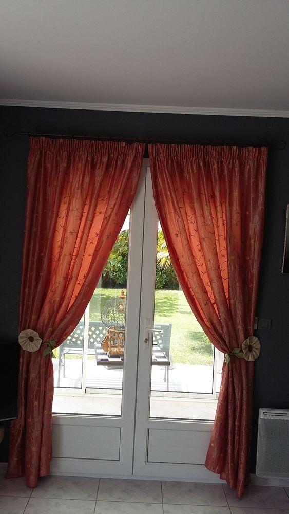 rideaux pour porte fenetre 2 vanteaux  20 Saint-Palais-sur-Mer (17)