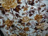 Rideaux/tenture/tissus ameublement/rose marron/Yenola Paris 35 Castres (81)