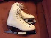 Riedell patins a glace blanche taille 36 75 Paris 7 (75)