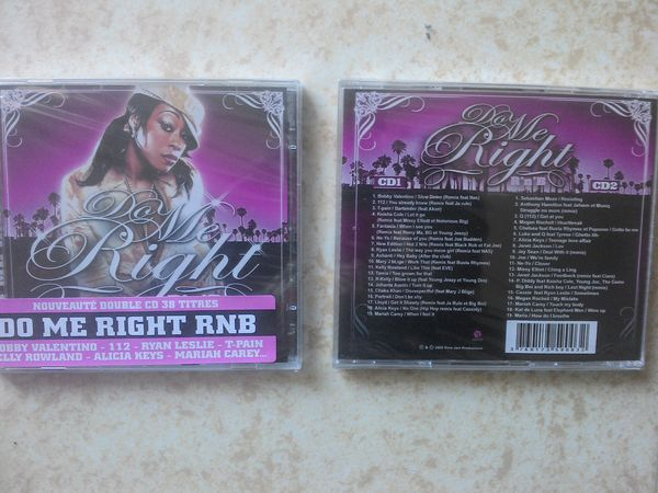 DO ME RIGHT RNB - A L'ANCIENNE - 2008 DOUBLE CD 0 Massy (91)