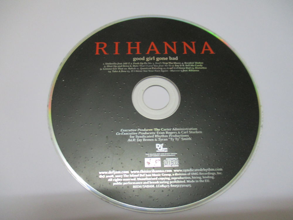 CD RIHANNA Good girl gone bad 1 Carmaux (81)