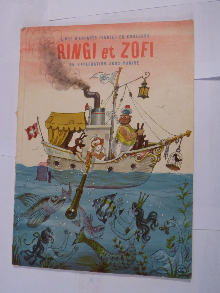 BD - RINGI ET ZOFI EN EXPLORATION SOUS MARINE 20 Brest (29)