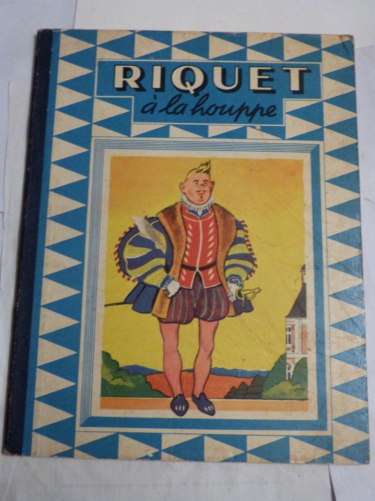 RIQUET A LA HOUPPE  illustrations  GUY SABRAN livre enfant 8 Brest (29)